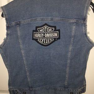 Harley Davidson Jean Vest